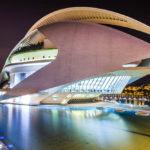 Das Opernhaus Palau de les Arts Reina Sofía in der Stadt der Künste und Wissenschaften