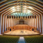 Das Auditorium im Opernhaus Palau de les Arts Reina Sofía in der Stadt der Künste und Wissenschaften