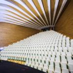 Der Saal Aula Magistral im Opernhaus Palau de les Arts Reina Sofía in der Stadt der Künste und Wissenschaften