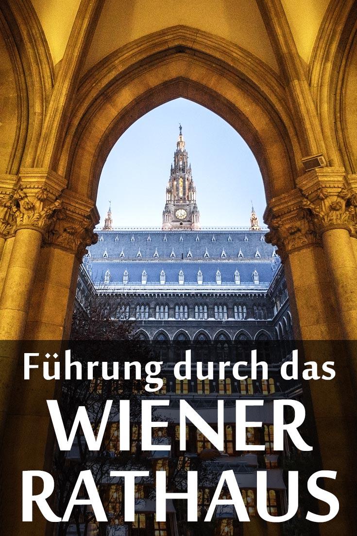Wiener Rathaus: Führung mit Fotos von innen und außen sowie den besten Fotospots.