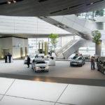 Innenansicht der BMW-Welt