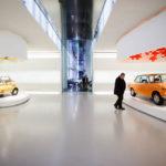 Innenansicht des BMW-Museums in München