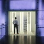 Innenansicht des BMW-Museums