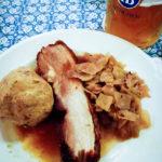 Ein Bierbratl im Hofbräuhaus München