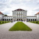 Außenansicht des Schloss Nymphenburg