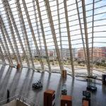 Innenansicht des Museu de les Ciències Príncipe Felip in der Stadt der Künste und Wissenschaften