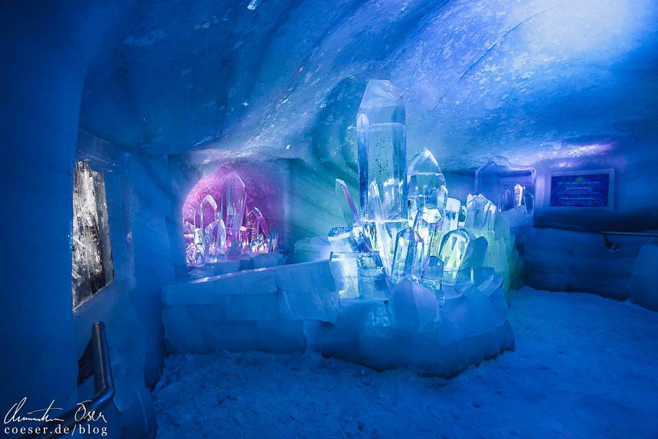 Eispalast in der Dachstein-Gletscherwelt