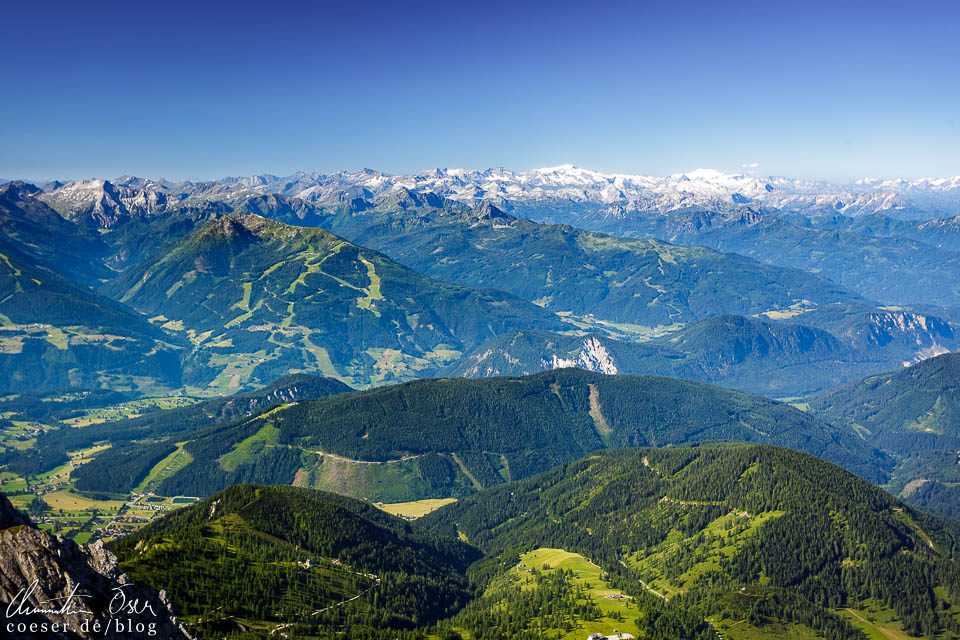 Aussicht von der Dachstein-Gletscherwelt