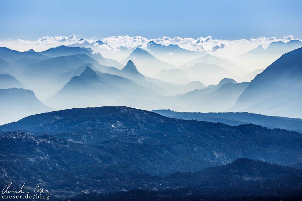 Ausblick in der Dachstein-Gletscherwelt