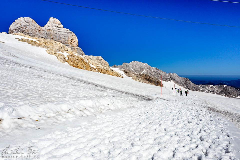 Wanderweg in der Dachstein-Gletscherwelt