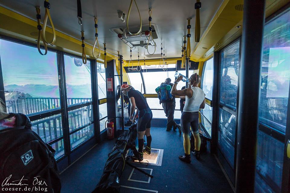 Gondel der Dachstein-Südwandbahn