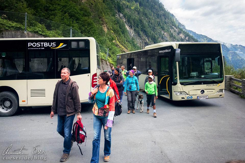 Bustransfer zu den Hochgebirgsstauseen Kaprun