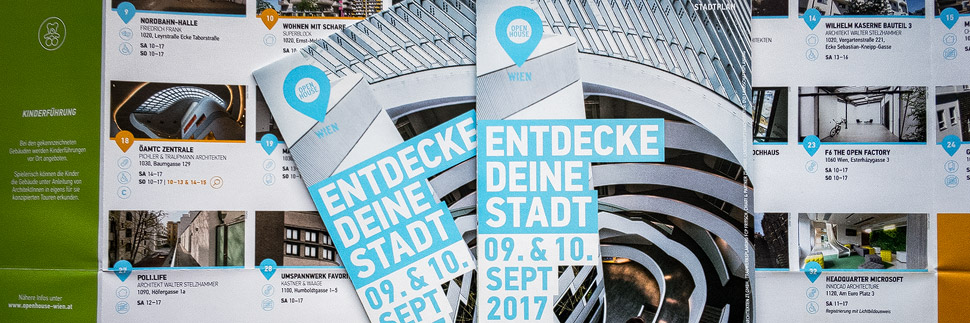 Stadtplan von Open House Wien 2017