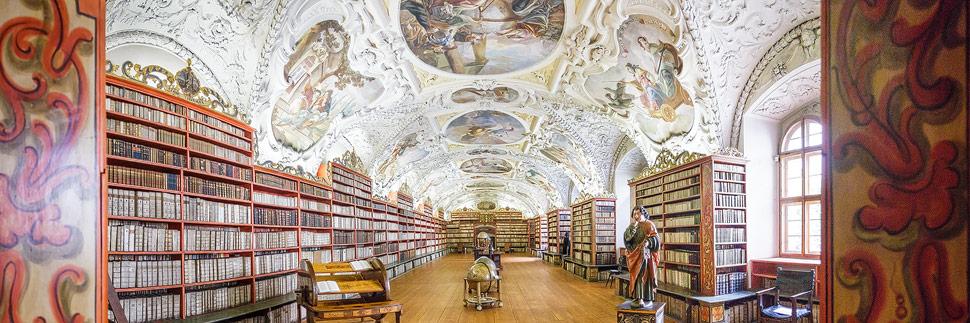 Theologischer Saal in der Bibliothek des Strahov-Klosters