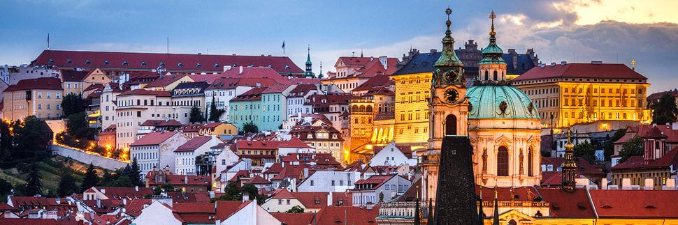 Blick auf die Prager Kleinseite Malá Strana