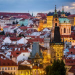 Blick vom Altstädter Brückenturm auf die Prager Kleinseite