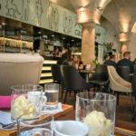 Innenansicht des Café Cacao Prague