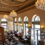 Innenansicht des Café Savoy
