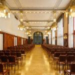 Der Sladkovský-Saal im Prager Gemeindehauses Obecní dům