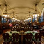 Das Pilsner Restaurant im Keller des Prager Gemeindehauses Obecní dům