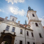 Außenansicht des Kloster Strahov