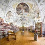 Der barocke Theologische Bibliothekssaal im Kloster Strahov