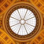 Deckengewölbe im Nationalmuseum