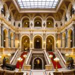 Innenansicht der Feststiege im Nationalmuseum