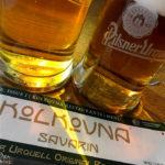 Zwei Pilsner Urquell im Restaurant Kolkovna Savarin