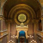 Innenansicht der Spanischen Synagoge