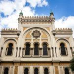 Außenansicht der Spanischen Synagoge
