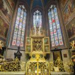 Innenansicht des Veitsdom auf der Prager Burg