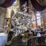 Grab des Johann Nepomuk im Veitsdom auf der Prager Burg