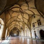 Der Vladislavsaal im Alten Königspalast auf der Prager Burg