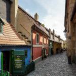 Das Goldene Gässchen auf der Prager Burg