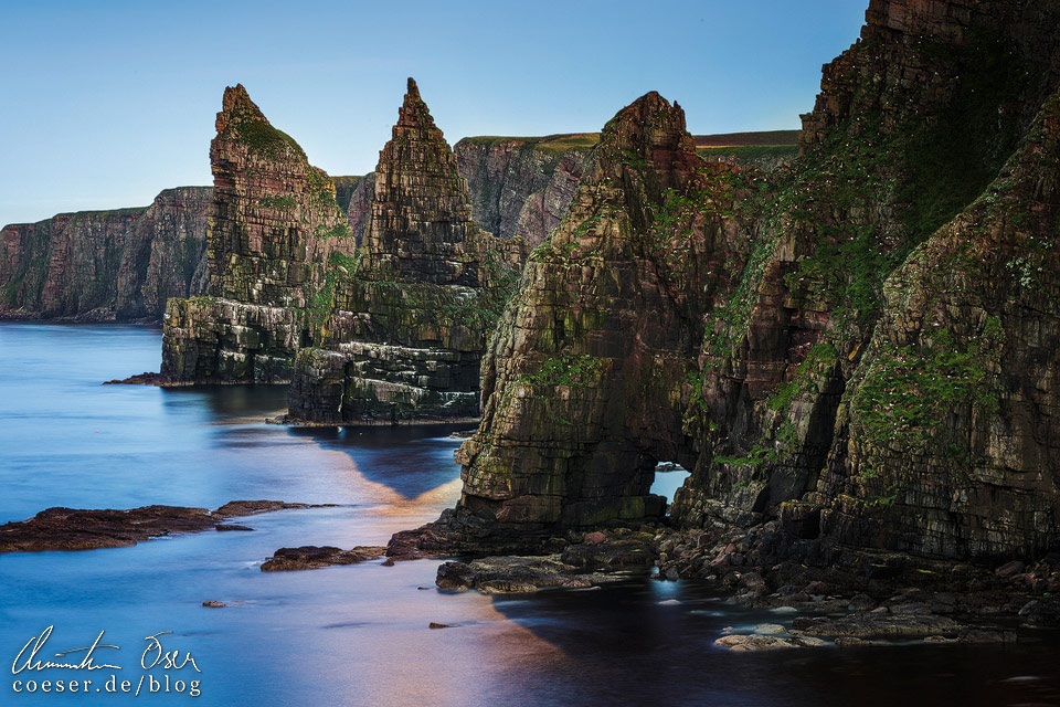 Duncansby Stacks in Schottland