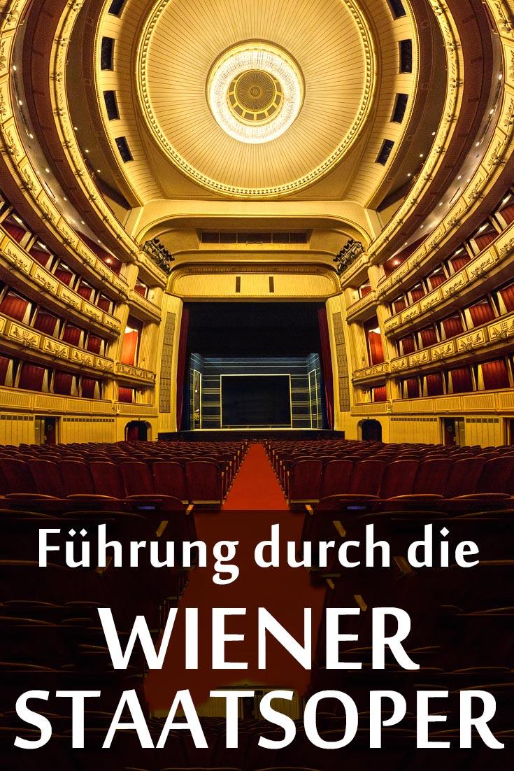 Wiener Staatsoper: Führung mit Fotos von innen und außen sowie den besten Fotospots.