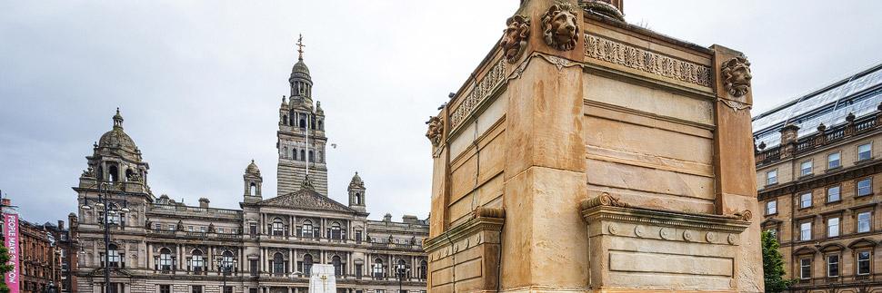 Das Rathaus (City Council) in Glasgow