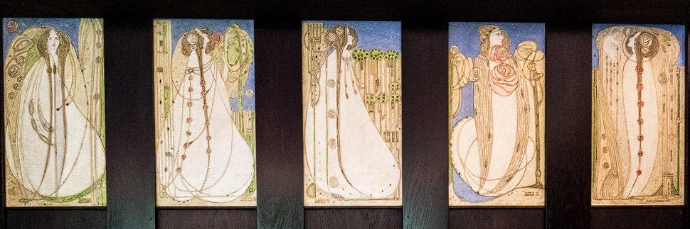 Floraler Jugendstil von Charles Rennie Mackintosh