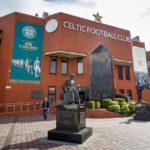 Außenansicht des Celtic Park (Celtic Glasgow)
