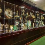 Trophäenraum im Celtic Park (Celtic Glasgow)
