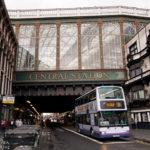 Außenansicht des Hauptbahnhofs Glasgow Central Station