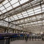 Innenansicht des Hauptbahnhofs Glasgow Central Station
