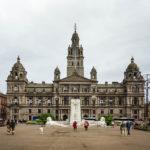 Außenansicht des City Council (Rathaus) von Glasgow