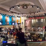 Innenansicht des Hard Rock Café in Glasgow