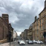 Blick auf die Rose Street in Glasgow