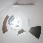 Ein Lichthof im modernen Zubau der Glasgow School of Art