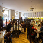 Innenansicht der Willow Tea Rooms in der Buchanan Street in Glasgow