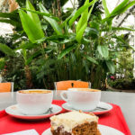 Kaffee und Kuchen im People's Palace And Winter Garden in Glasgow