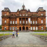 Außenansicht des People's Palace And Winter Garden in Glasgow